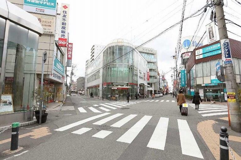 阪急塚口からの道のり